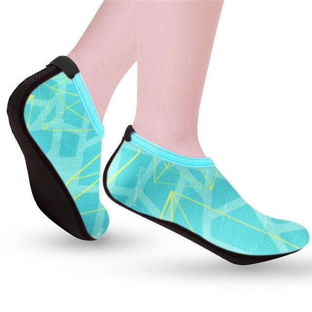 2018 HENGSONG Sommer Schwimmen Wasser Schuhe Frauen Strand Schuhe Erwachsene Unisex Flachen Weichen Liebhaber Atmungsaktive alias mujer