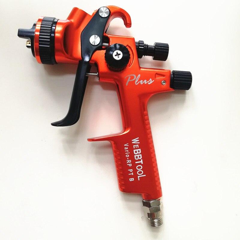 NOUVEAU PGK B PLUS professionnel Gravité pistolet pistolet à peinture de voiture peint haute efficacité RP 1.3mm BUSE