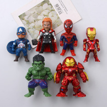 11 Choices Avengers Refrigerator Stickers Spider-Man Raytheon Iron Man Magnetic Stickers Message Posts Garage Kits mdocs posts
