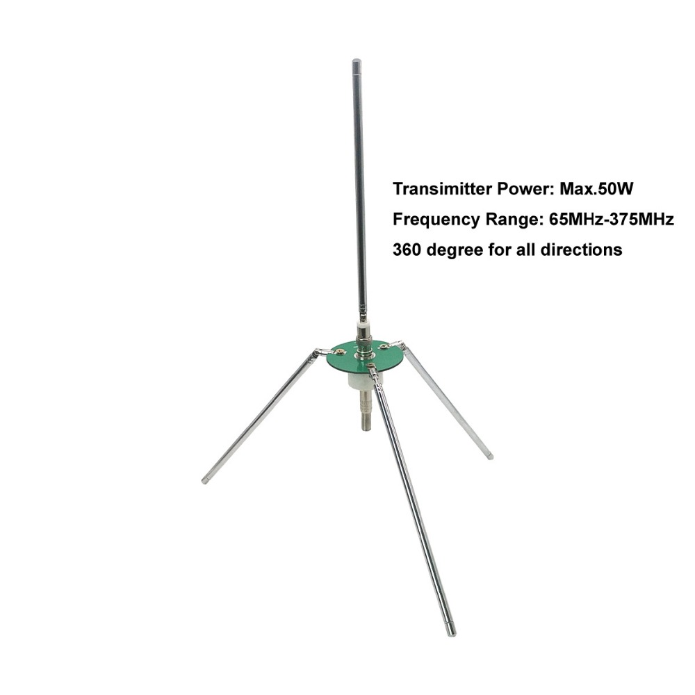New telescopic <font><b>Transmitter</b></font> antenna <font><b>FM</b></font> 65-375MHz for receiver & <font><b>transmitter</b></font> Max.<font><b>50W</b></font> image