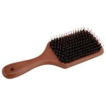 nylon tip wood comb+Free