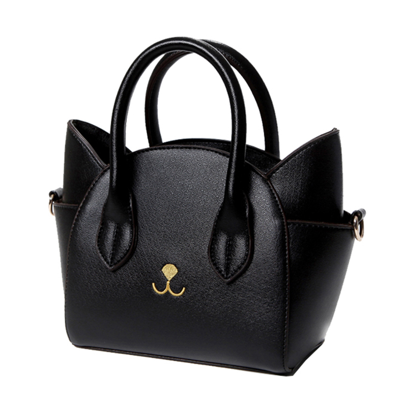 Fashion lovely womens pu leather top-handle shoulder bags female cute Cat Messenger handbags lady small totes wonderful giftFashion lovely womens pu leather top-handle shoulder bags female cute Cat Messenger handbags lady small totes wonderful gift