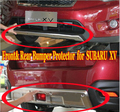 Stainless Front and Rear Bumper Protector Diffuser Scuff Plate For SUBARU XV 2012+