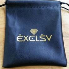 300 шт Высокое качество pu кожа drawstring мешочки для украшений 8*10 см подарочный мешочек для хранения ювелирных изделий с пользовательским логотипом