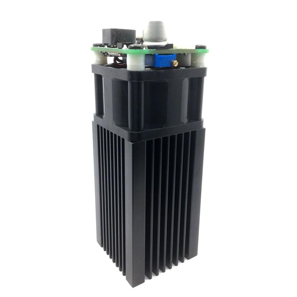 5500 mW 445-450nm Bleu Lumière Laser Module bricolage Micro Laser Gravure Module pour CNC Laser Sculpture machine à graver Accessoire