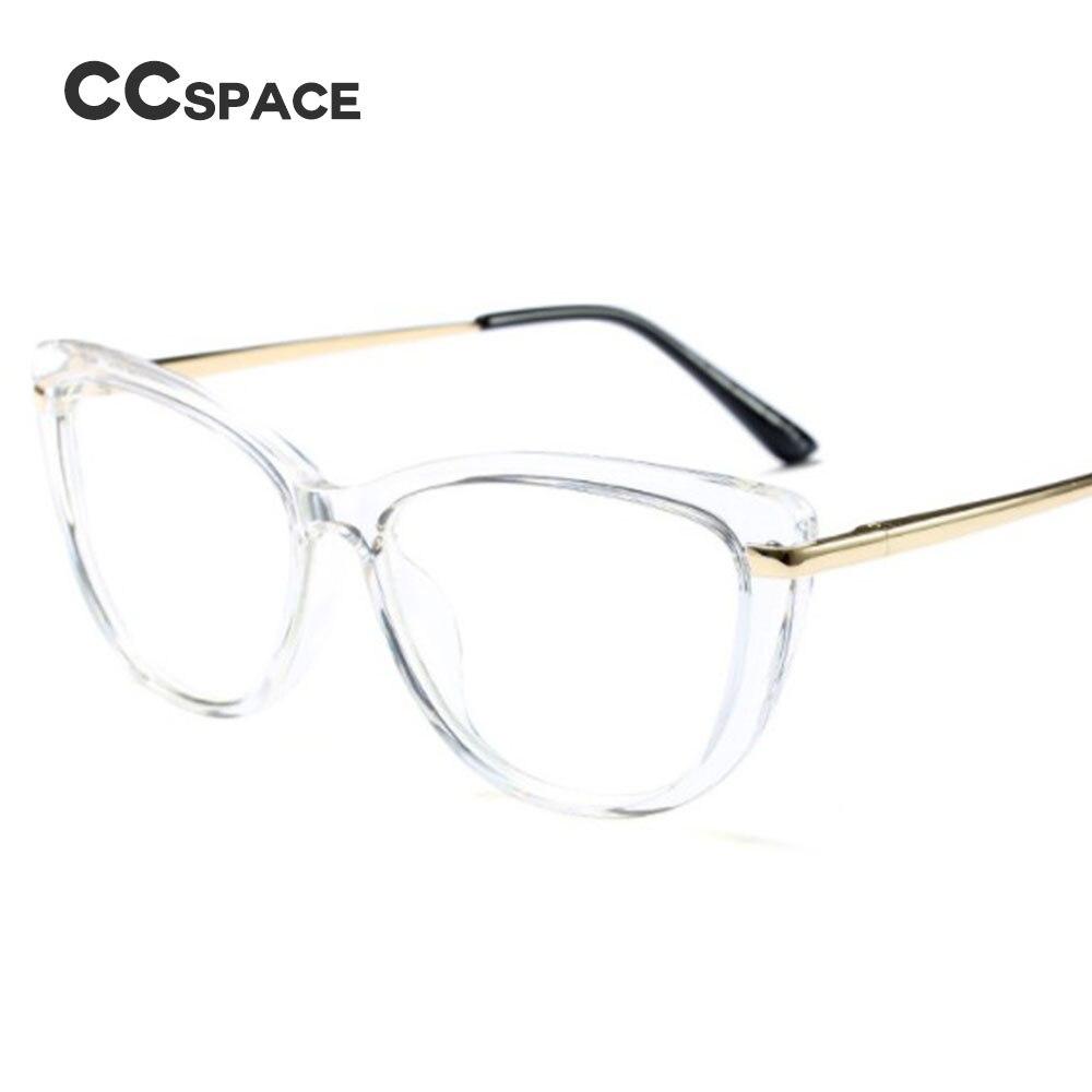2d7dd1eb96eea3 CCSPACE damskie Cat Eye ramki okularów damskie czerwone różowe okulary  optyczne moda okulary korekcyjne okulary komputerowe 45366 w CCSPACE damskie  Cat Eye ...