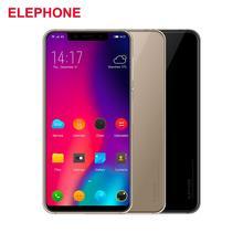 Elephone A4 4G Android 8.1 Téléphone Mobile 5.85''19: 9 Smartphone Face Débloquer Empreinte 3 GB 16 GB Téléphone Mobile Quad OTG Téléphone Intelligent
