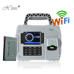 ZK S922 IP65 Waterproof WIFI TCP/IP Fingerprint Time Attendance Biometric Time Recording With Built-in 7600 mAh Backup Battery