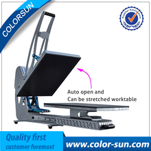 New Arrival Magnetic Auto Open Flatbed Print Heat Press Machine 40 60cm Sublimation Machine on good
