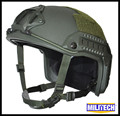 S/M OD Deluxe OPS-Core Maritime NIJ level IIIA OD Bulletproof Helmet / Oliver Drab Maritime FAST Bullet Proof Ballistic Helmet