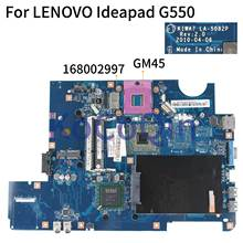 KoCoQin материнская плата для ноутбука LENOVO Ideapad G550 материнская плата KIWA7 LA-5082P 168002997
