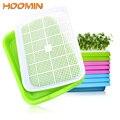 HOOMIN 1 Набор выращивание растительных саженцев пластиковый лоток-питомник двухслойная росток пластина Гидропоника поднос для рассады