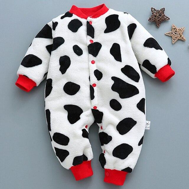 Baby kleding jongens meisjes rompertjes Coral leuke zuigeling Algehele peuter jumpsuit baby kostuum een stuk 1