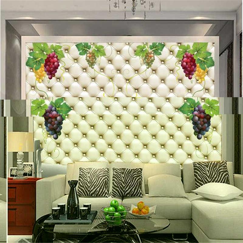 Beibehang рюкзаки Шелковые Обои фреска ТВ 3D стереоскопический диван дизайн расписные обои Зеленые Лозы фото обои