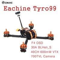 Eachine Tyro99 210mm F4 OSD 30A BLHeli_S 40CH 600mW VTX 700TVL Camera Brushless DIY Version FPV Racing RC Drone Quadcopter