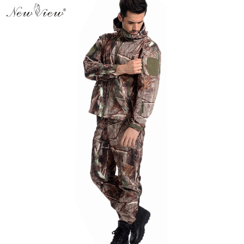 ٩(^‿^)۶2017 marca ropa chaqueta hombres ejército TAD Militar tiburón ...
