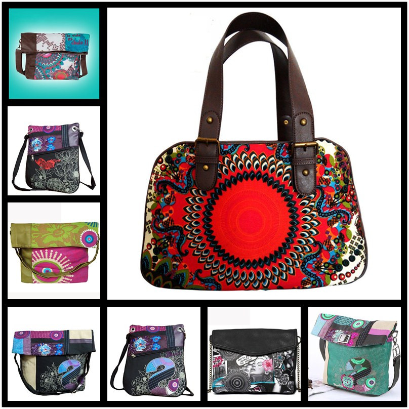 Bolsos Mujer Desiguers Bags Vintage Canvas Cross Body Handbag Shoulder Messenger Bags Sac A Main