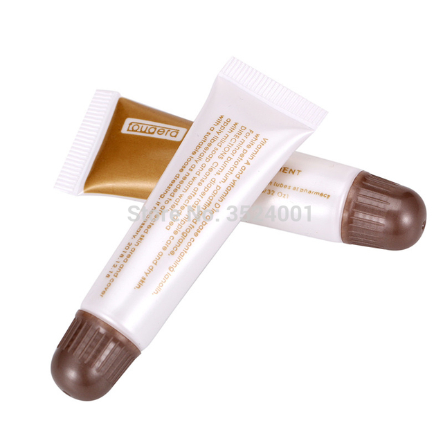 100 pcs Permanent Makeup Repair Gel Tattoo Nursing Ointment A&D Anti Scar Tattoo Aftercare Cream for Eyebrow and Lips