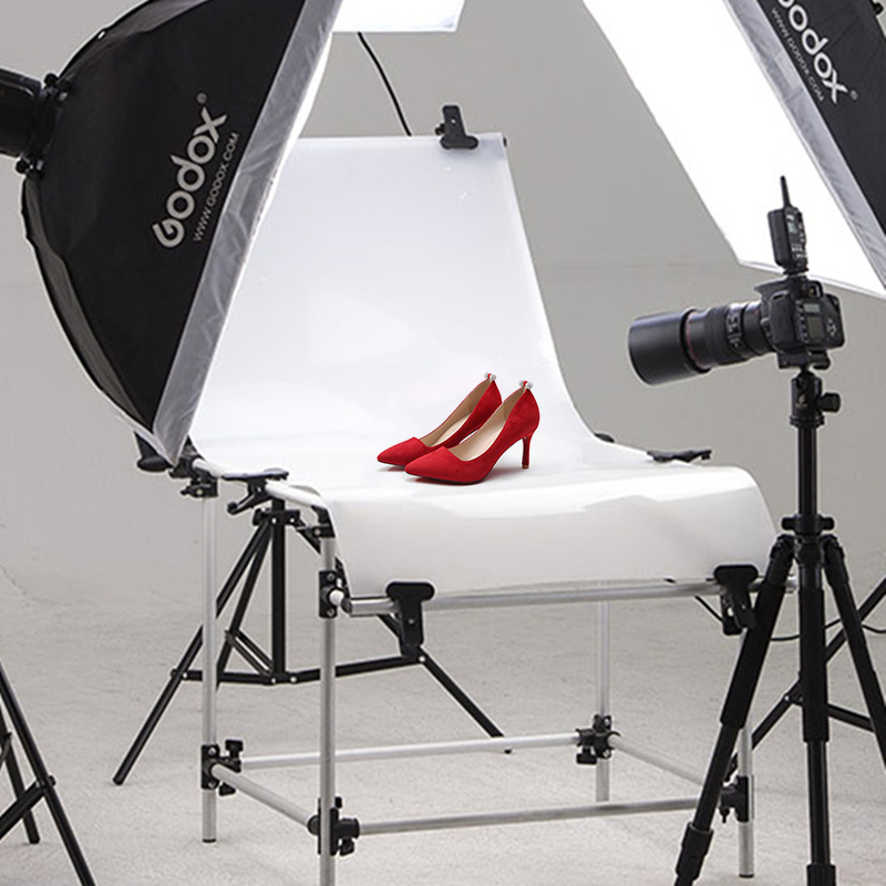 russian photo table 60 x 100cm folding portable specialty photography photo studio shooting table for on line product shooting Photographic Equipment Still Life Table 60cm X 130cm Photography Light Shooting Table Photo Studio photographic equipment CD50