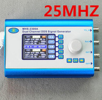 25MHZ MHS2300A Sine Square Triangle Series DDS Signal Generator CNC Dual Channel Arbitrary Waveform