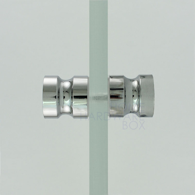 Buy Shower Glass Door Knob Chrome Plated