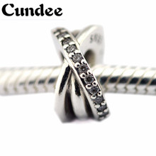 Winter Galaxy Crystal Stone Beads Fit Pandora Charms Silver 925 Original Bracelet NEW Christmas Style Fashion DIY Jewelry Making