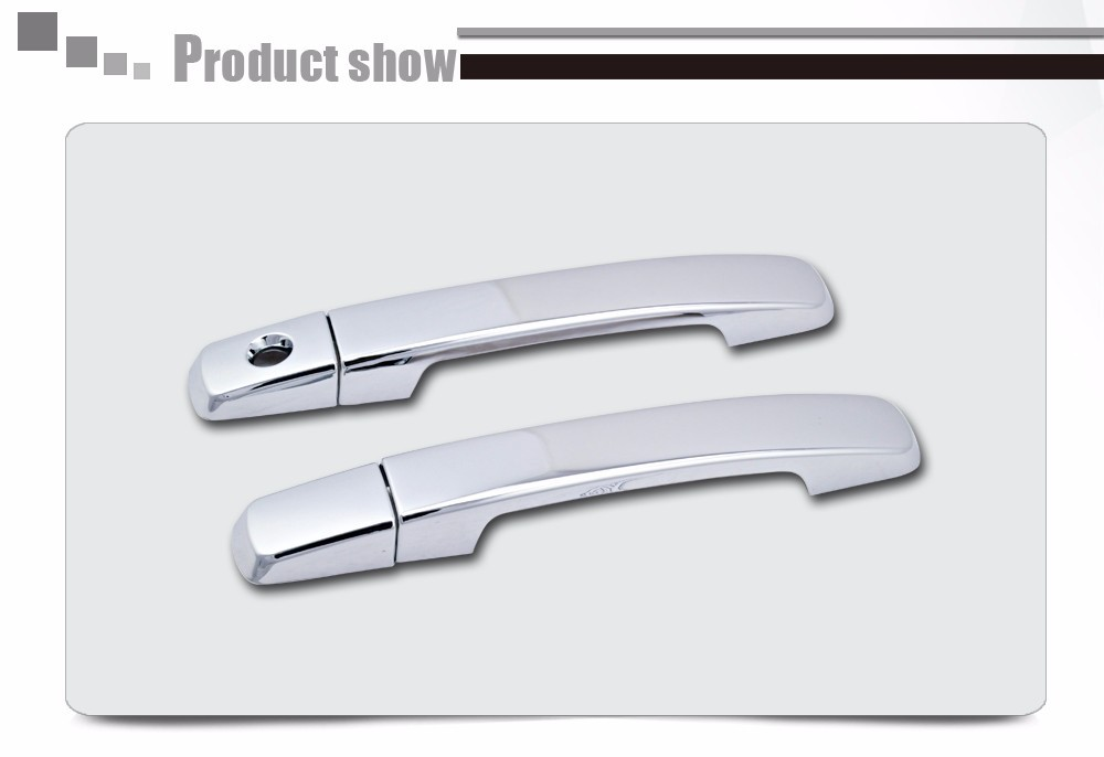 Car Door Handle Cover Parts No PSKH For Nissan Pathfinder 2D King Cab 2004-2012 ABS Plating Chrome Accessories b