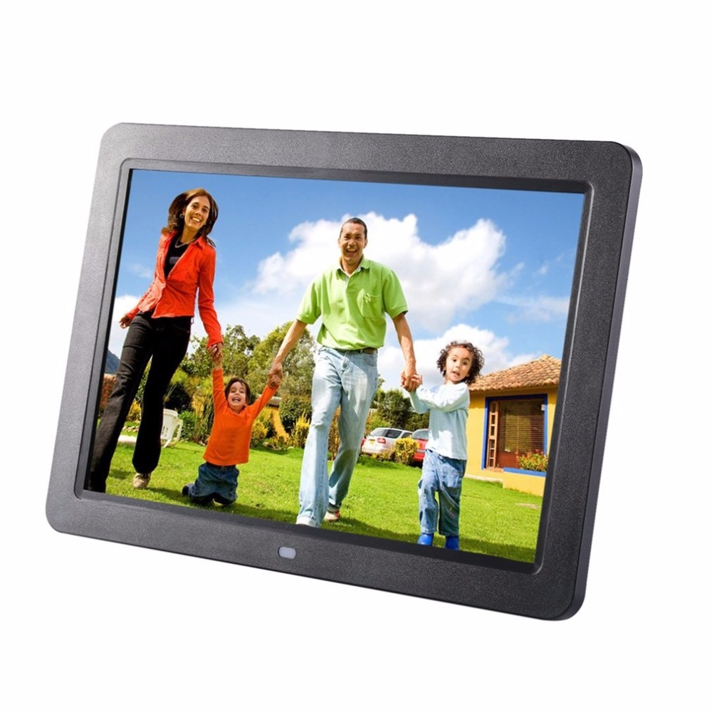 12 Inch HD TFT LED Screen Muitifunctional Digital Photo Frame Support Wireless Remote View Pictures 10 inch ultra thin digital photo frame