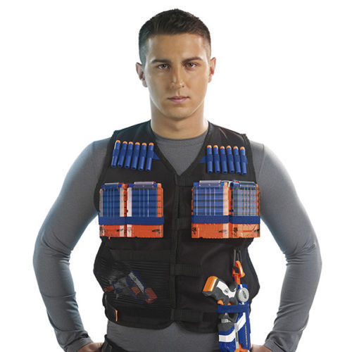 Women's Clothing Audacious Adjustable Tactical Vest With Storage Pockets Toy For Nerf N-strike Elite Team To Make One Feel At Ease And Energetic
