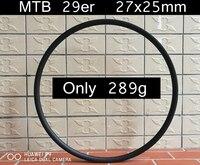 Только 289 г свет MTB 29er углерода диски XC Race 29 дюймов горный велосипед 27x25 мм колеса углерода