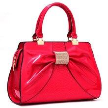 2016 New Women Patent Leather Handbags Famous Designer Brands Female Shoulder Messenger Bags Ladies Saffiano Crossbody Bag