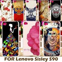 Akabeila жесткий Пластик Окрашенные чехол для Lenovo Sisley S90 4 г FDD LTE S90U S90T S90-U S90a S90 A S90-a s90e крышка смартфона