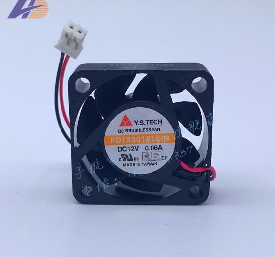 Y. s. tech FD123010LL-N 3010 12 В 0.06A 30*30*10 мм 2 линии Бесшумный Гидравлический вентилятор