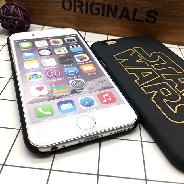 Luxury Star Wars Hard Matte Cover for iPhone (2 Styles)