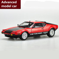 1:18 advanced alloy sports car toys,De Tomaso Pantera GTS,diecast metal model toy vehicle,collection model free shipping