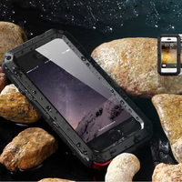Outdoor Sports For Iphone 7 Case Metal Fashion For Iphone 6 Case Alloy 5G 6G 7G