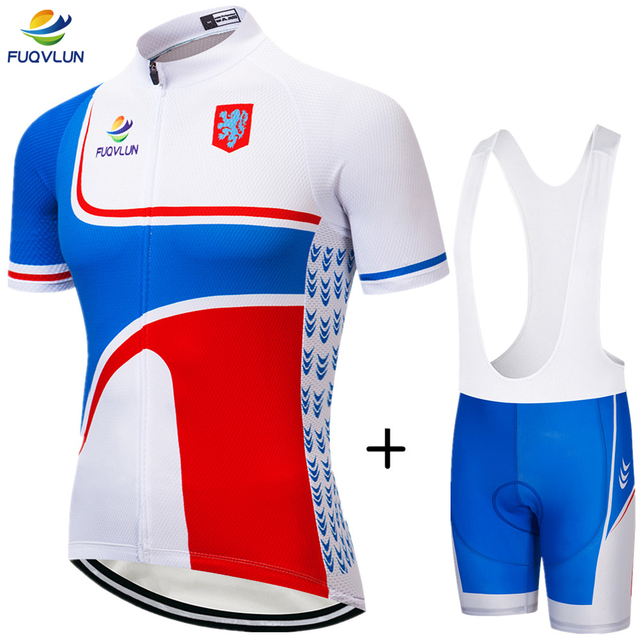 2018 FUQVLUN New Arrival Bike Clothing Pro Cycling Clothing Men Short Sleeve Netherlands Bicycle Jersey / Cycling Jersey Set -66