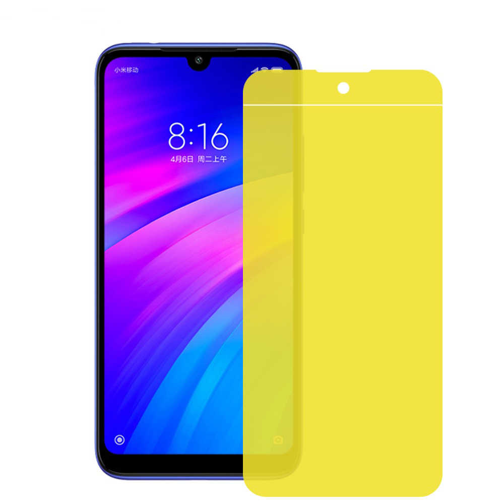 Soft Hydrogel Protective Film For Redmi 7 Note 7 Pro Full Coverage Screen Protector Nano film Not Glass