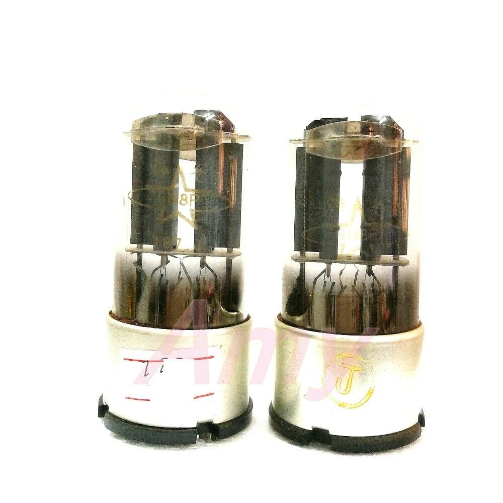 Оригинальная коробка 6N8P электронная трубка замена 6SN7 6H8C специальное