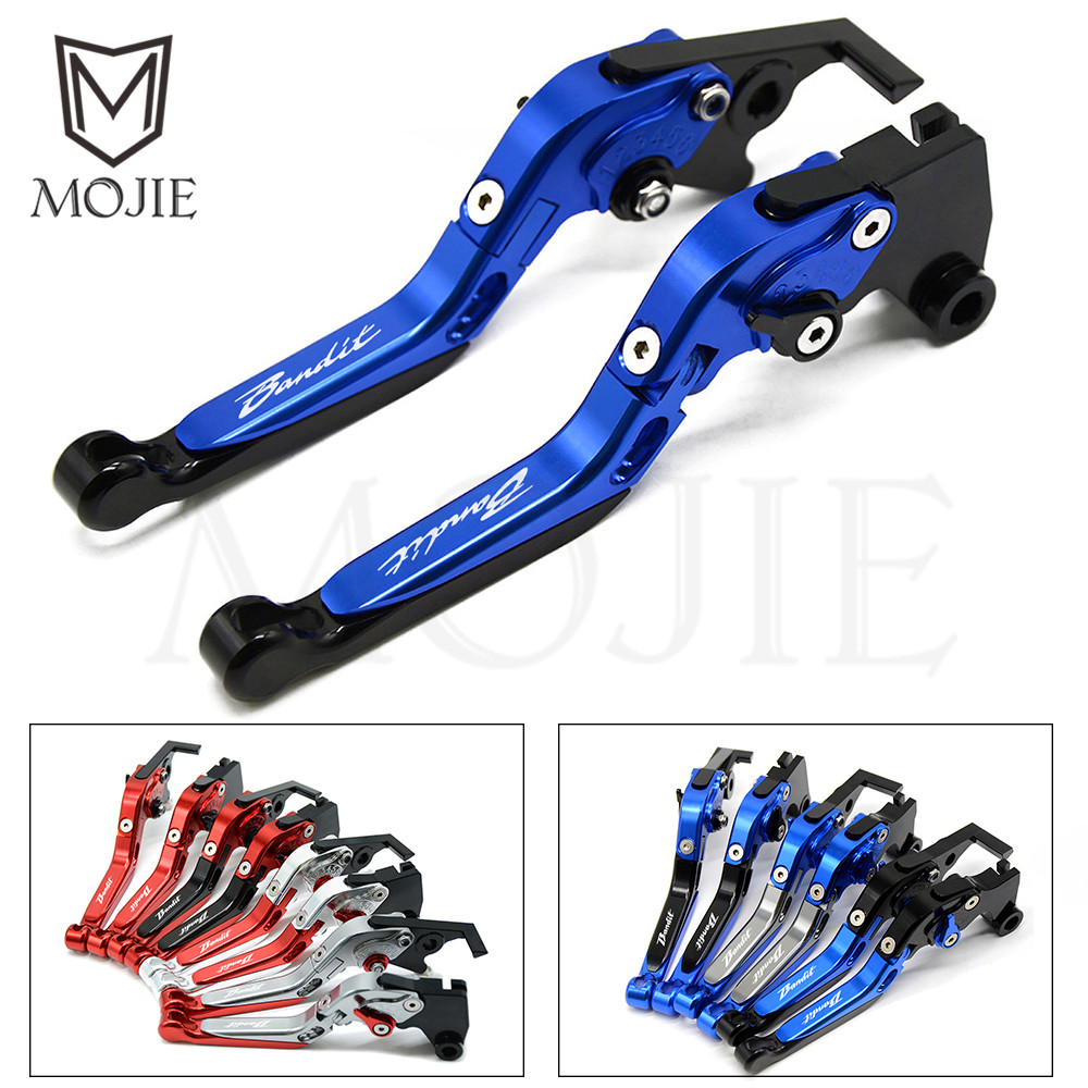 Motorcycle Folding Adjustable Brake Clutch Levers For SUZUKI Bandit GSF600S GSF 600S GSF600 S GSF 600 S Bandit 1996-2003 Motor motoo f 14 s 248 motorcycle brake clutch levers for suzuki gsxr600 1997 2003 gsxr750 1996 2003 gsxr1000 2001 2004 tl1000s