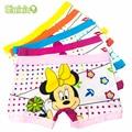 5 Pcs/Lot Hot Sell Cotton Cartoon Kids Girls Underwear Cute Pattern Children's Boxer Kid Panties Underpants Baby Clothes Briefs