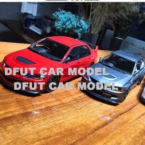 Image 4 - 1:18 합금 랜서 evo 8 mr FQ 400 어린이 장난감 자동차의 자동차 모델 원래 공인 정통 어린이 장난감
