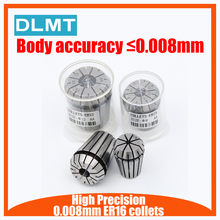 1 قطعة ER16 collets عالية الدقة 0.008 مللي متر دقة 1 مللي متر 10 مللي متر ER16 أسطوانة معدنية مناسبة ل إيه كوليت تشاك حامل