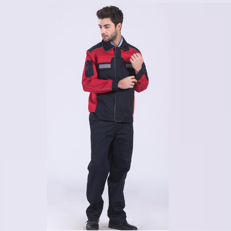 DM018 Newest style long Sleeves Workshop Uniform All Season Engineering Uniform Auto Repair Workshop Work Wear Jacket Pants Sets