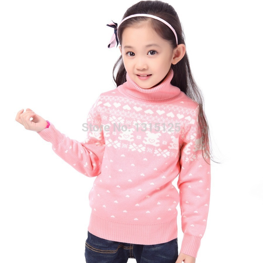 New-2016-Childrens-Sweater-Spring-Autumn-Girls-Cardigan-Kids-Turtle-Neck-Sweaters-Girls-Fashionable-Style-outerwear-pullovers-2