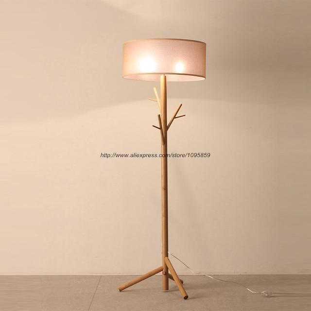 Aliexpress Buy Antique Wood Tree Floor Lamp Bedroom Living