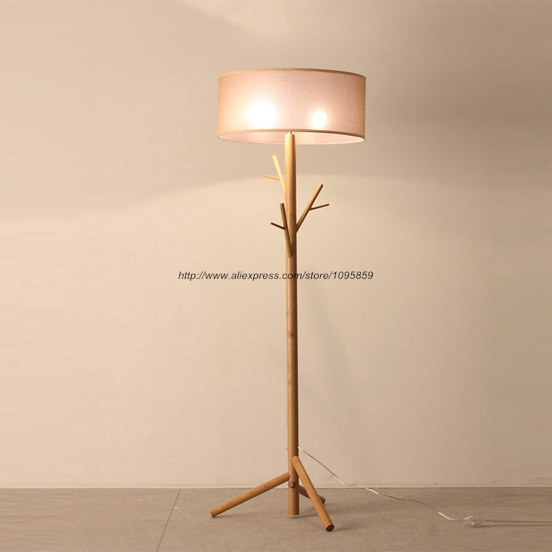 living room standing lights modern nordic tree branch wood floor lamp bedroom living 15215