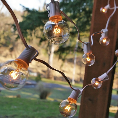 ФОТО Christmas Marquee String Length of 25 Ft, with 25 E12 Lamp, Decorative Light String Outdoor Courtyard