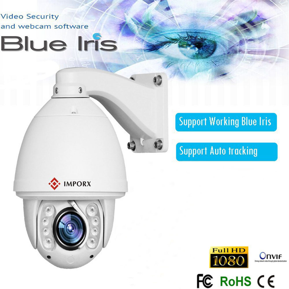 Security CCTV 1080P 20X zoom Auto tracking Full HD IR 150M 2MP PTZ Camera with wiper and SD support p2p auto tracking ptz full hd1080p ir ip camera with 8g sd card 20x zoom camera