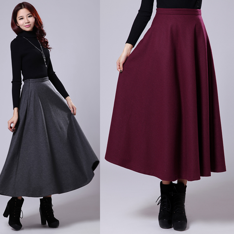 Compare Prices on Black Mid Calf Skirt- Online Shopping/Buy Low ...
